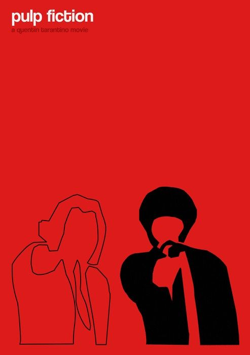 Pulp Fiction (1994) ~ Minimal Movie Poster