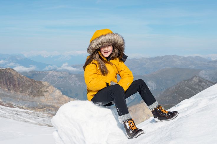 "Reima´s ""Sisarus"" jacket blocks the wind also in the highest mountains."