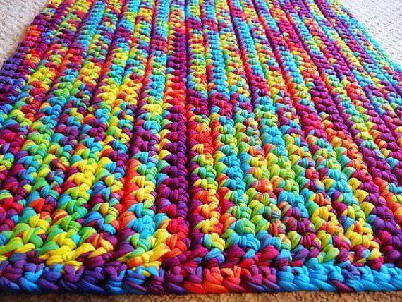 1000 Images About Crochet T Shirt Yarn On Pinterest