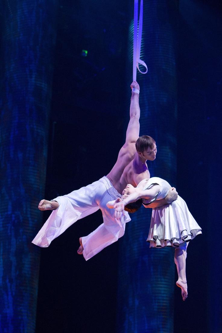 Un'immagine dal film Cirque du Soleil - Mondi Lontani 3D, in Blu-ray 3D, Blu-ray e DVD dall'8 Maggio