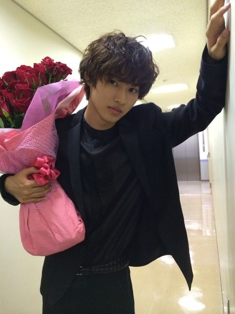 Yamazaki Kento♡.. for me? Thank you