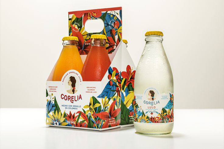 The Bold Lush Packaging of Corelia — The Dieline - Branding & Packaging Design