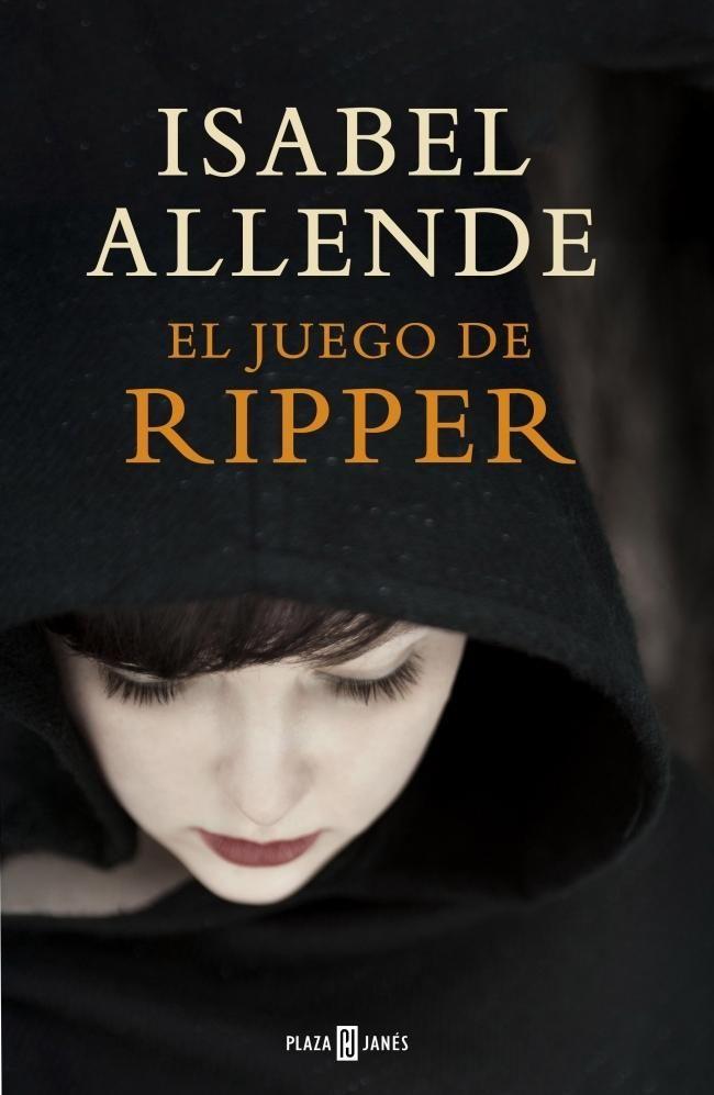 """""""El juego de Ripper"""". Isabel Allende sorprende con un libro lleno de suspenso y un toque paranormal. Probablemente, la novela más sangrienta de la autora, así como una historia de lectura veloz en la que demuestra, una vez más, que no dejará de escribir hasta que haya incursionado en todos los géneros literarios. #Literatura #Libros"""