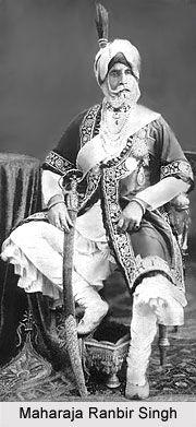 Sikh Maharaja Ranbir Singh of Jammu & Kashmir