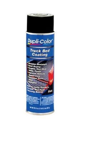Dupli-Color TR250 Truck Bed Coating Aerosol, 16 Oz, Black