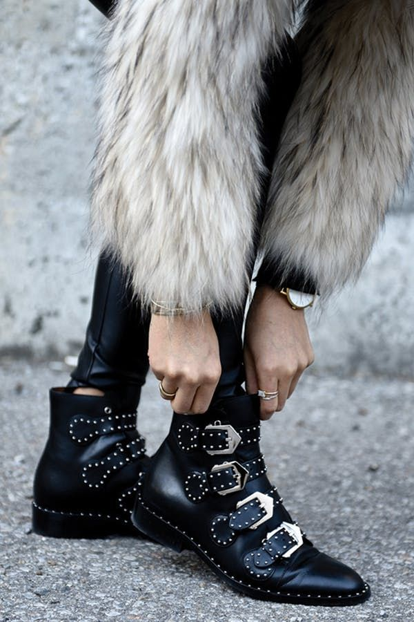 a8f6525d801 Here's How to Pull Off Those Trendy Rock-Star Booties | Style ...