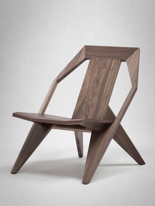 Wood Lounge Chair //