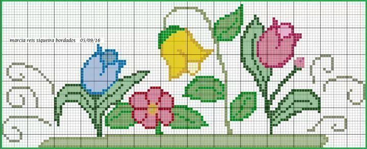 blog sobre ponto cruz e artesanatos.                                                                                                                                                                                 Mais [] #<br/> # #Pinte,<br/> # #Cross #Stitch,<br/> # #Embroidery,<br/> # #Brand,<br/> # #Tulipa,<br/> # #Crafts<br/>