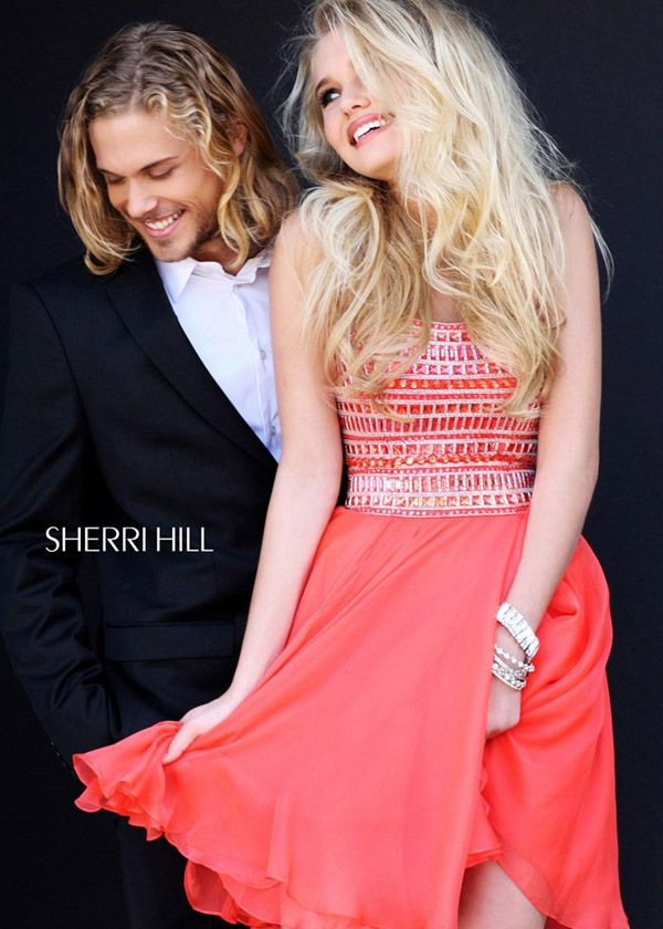 24 mejores imágenes de Strapless Sherri Hill Prom Dresses en ...