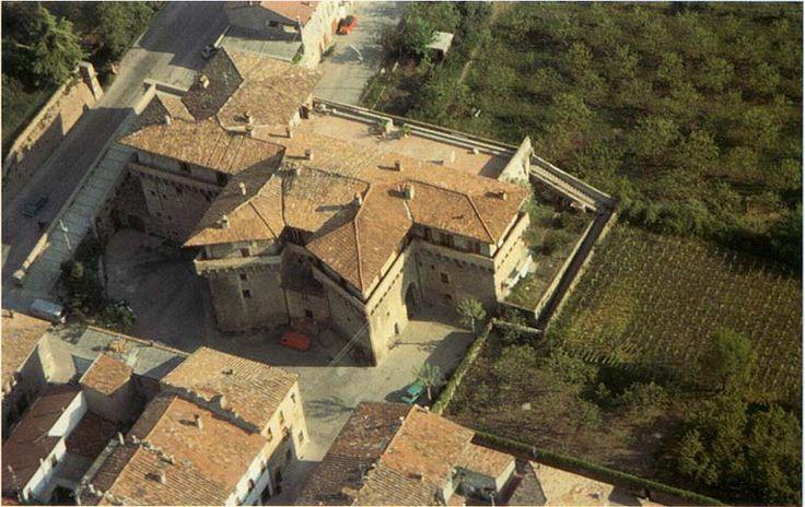 Castello del Capitano della Piazza o del Governatore dall'alto - Terra del Sole