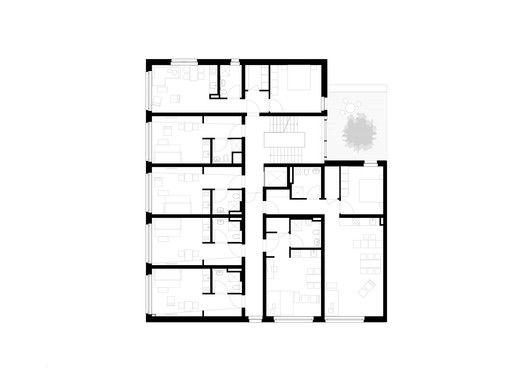 Student Residence in Kamp-Lintfort,Floor Plan