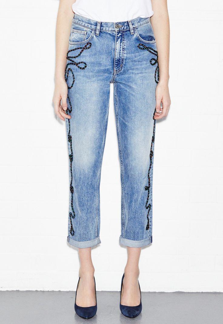 Mih jeans Linda Jean in Blue (Niner Wash)