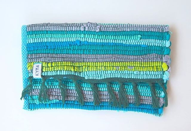 Bohemian Boho Ibiza Style ~ Clutch Pouch Handbag Kourelou Rug Bag ~ Handmade by http://www.kymastyle.com ~ DaWanda Shop: http://kymastyle.dawanda.com