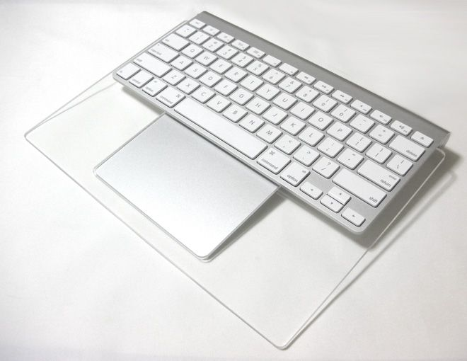 Crispy Backboard for Apple Wireless Keyboard + Magic Trackpad