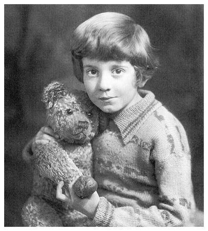 Christopher Robin Milne | Fun Fact Fridays- The REAL Winnie the Pooh and Christopher Robin