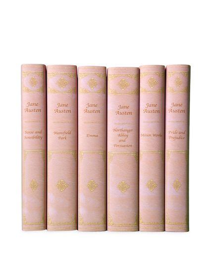 Pink Jane Austen Set (Set of 6)