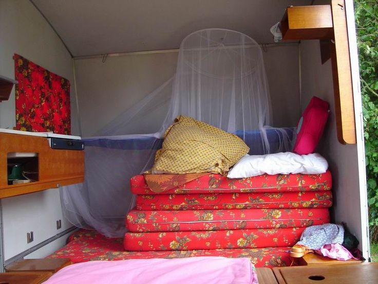 rapido confort la caravane pliante en bois jardin caravane pinterest caravane pliante. Black Bedroom Furniture Sets. Home Design Ideas