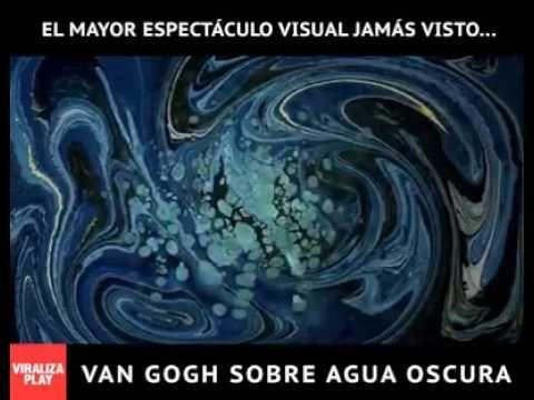 Van Gogh sobre agua oscura |