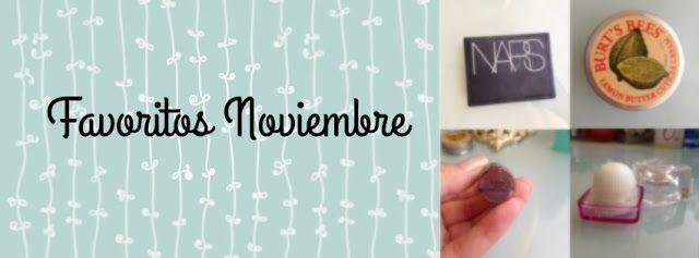 Cata Martínez N: Favoritos Noviembre