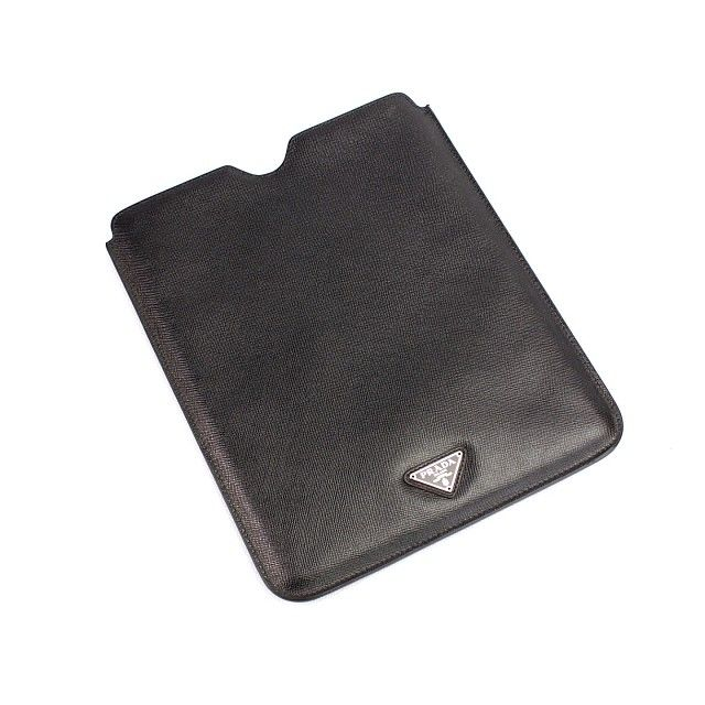 New Arrival PRADA iPAD CASE, AED 2,200 at Moda Outlet. #Fashion #Leather