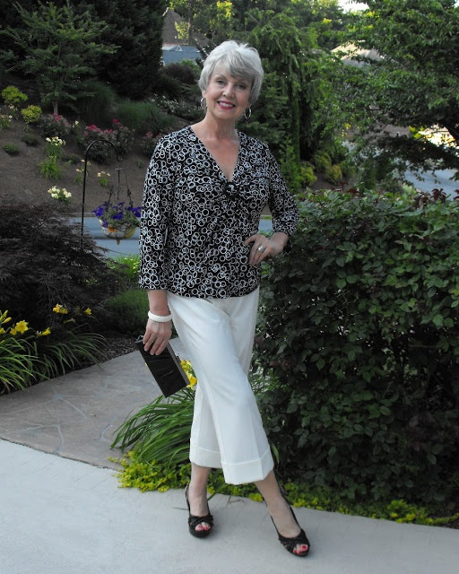 Fifty, not Frumpy: Black and White for Date Night