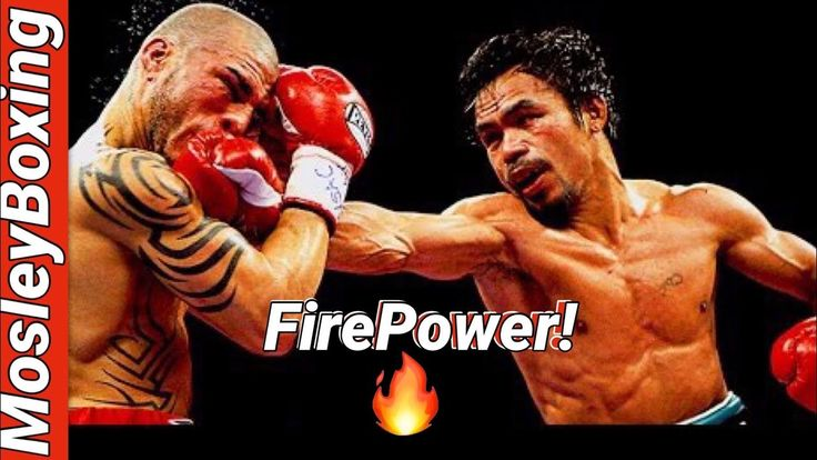 Manny Pacquiao vs Miguel Cotto HD | FIREPOWER | Good Big Man vs Great Li...