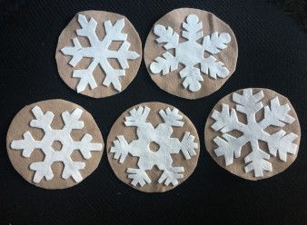 Five Little Snowflakes | Snowflakes Flannel Board | Read with Miche