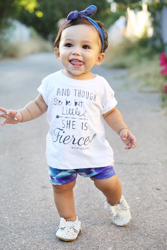 This shirt would be fitting for Emma! Baby Moccasin Moccs Moccasins Leather Bow Girl by SweetLucyJack