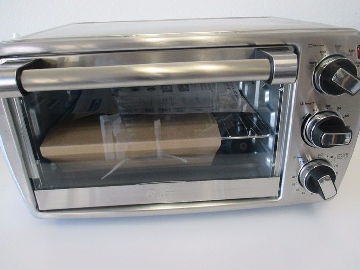 Oster 6-Slice Convection Countertop Oven Brushed Stainless Steel TSSTTVCG04