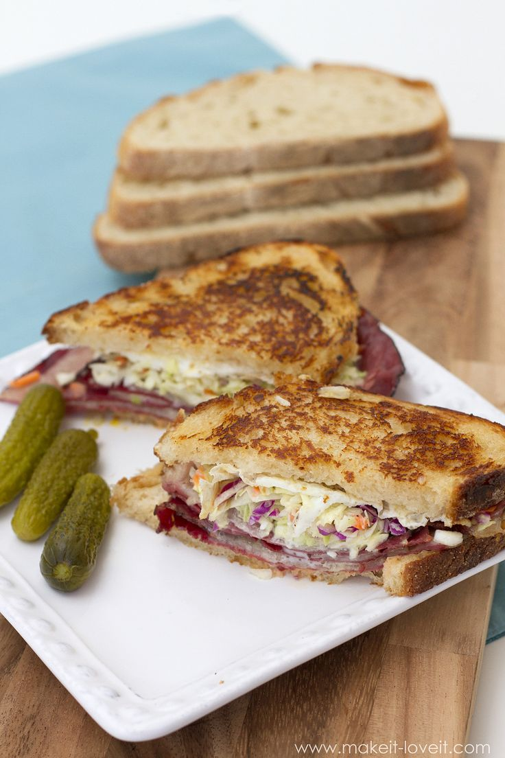 how to make a reuben sandwich from scratch