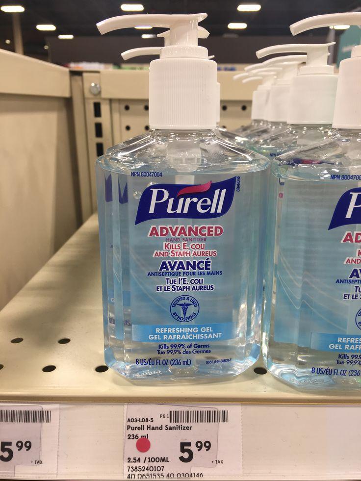 Safeway Purell Hand Sanitizer Hand Soap Bottle Gel