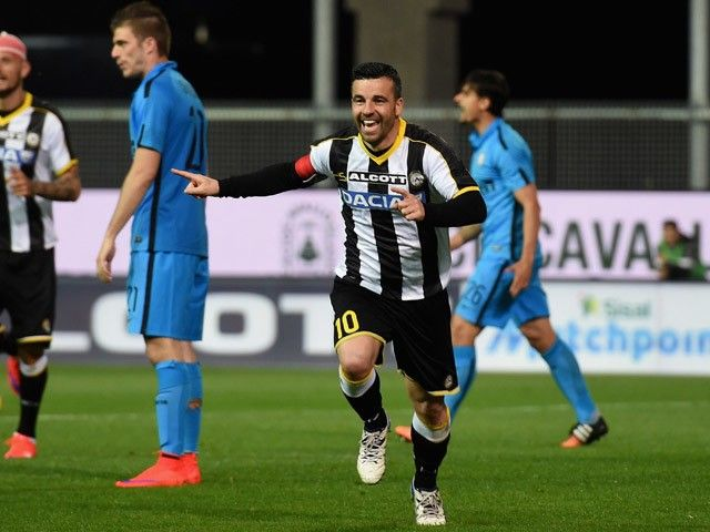 Record-breaker Antonio Di Natale to end Udinese career this summer