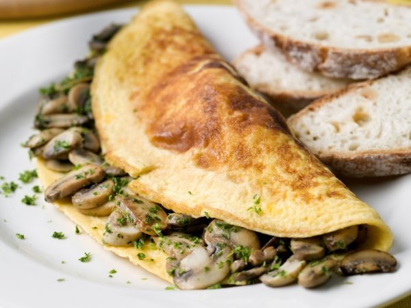 Omelet met champignons - Libelle Lekker!