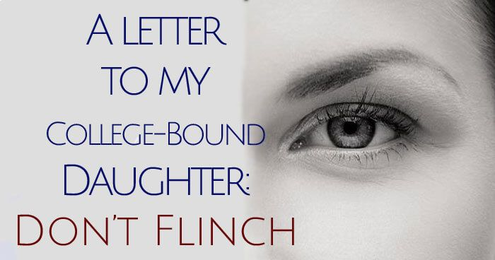 In a beautiful letter to her college bound daughter, one mother shares the lessons & values she hopes her daughter will carry with her as she leaves home.