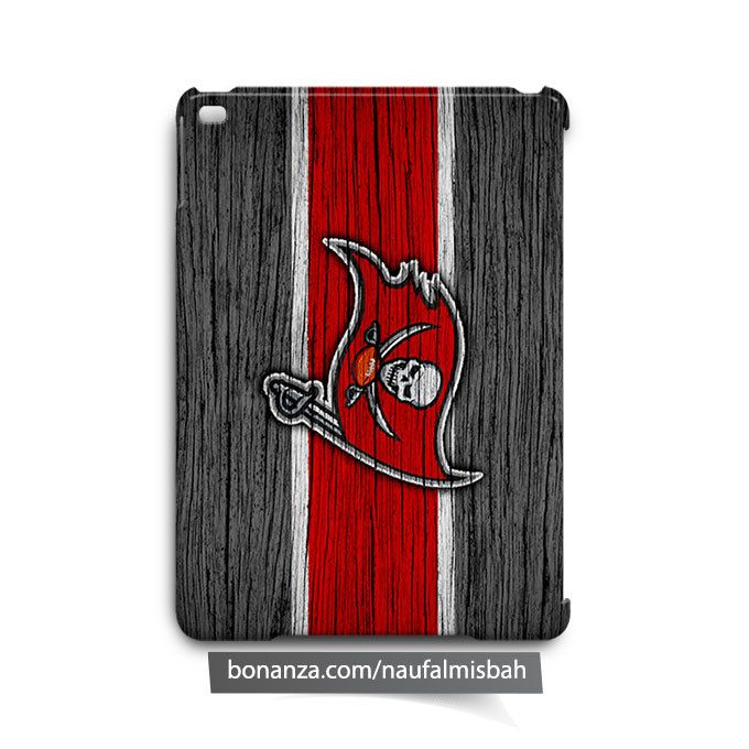 Tampa Bay Buccaneers on Wood iPad Air Mini 2 3 4 Case Cover
