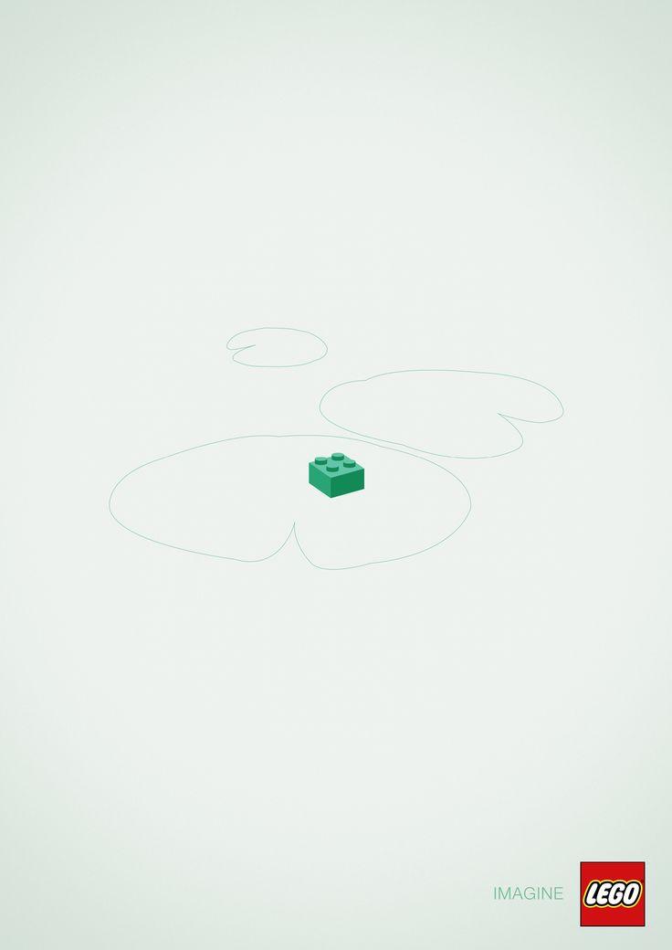 "Lego : ""Imagine"" Frog"