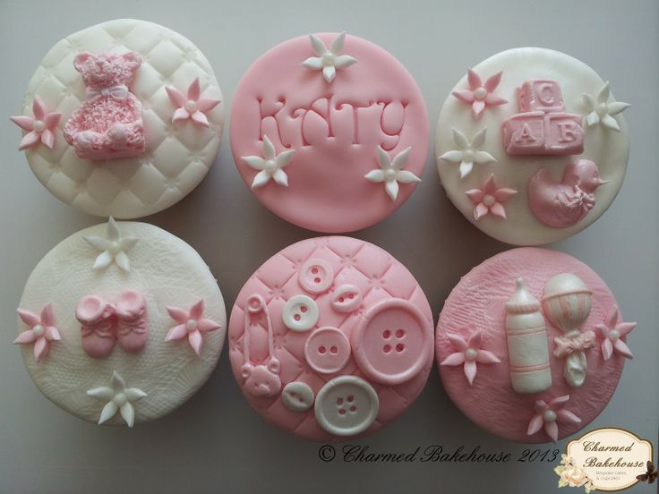 baby girl cupcakes baby shower cupcakes mini cupcakes shower cake