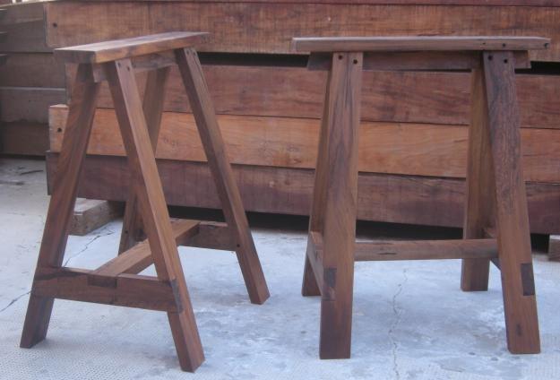 Fotos de caballetes de madera dura para mesa escritorio - Caballetes para mesas ...
