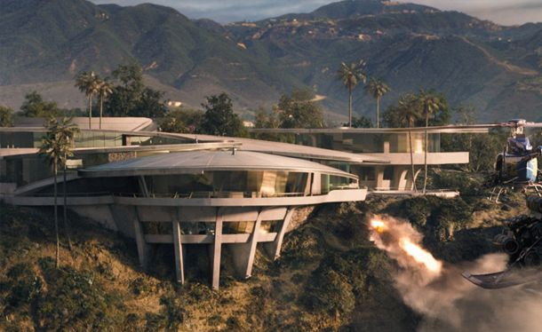 The Stark mansion in Iron Man is absolutely gorgeous over seeing the ocean right on a cliff. Description from pinterest.com. I searched for this on bing.com/images