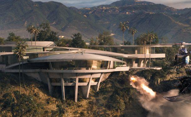 Iron Man 3 Tony Stark And His Astonishing Home