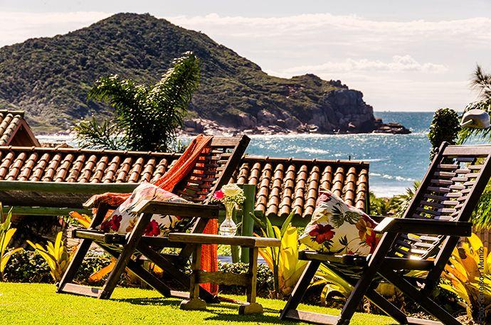 Village Praia do Rosa cenário para uma lua de mel inesquecível!