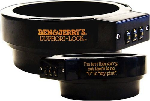 Safeguard Your Ben & Jerry's Ice Cream With a Pint Combination Lock | Adweek