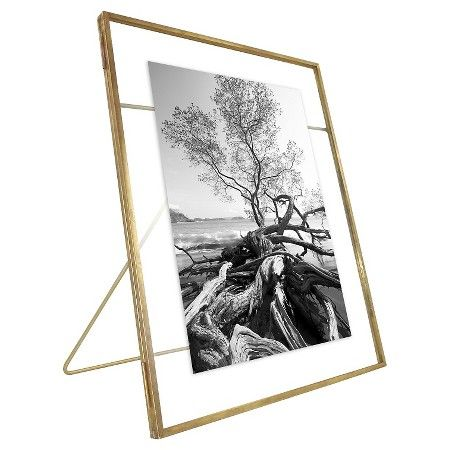 Front Opening 7 Quot X9 Quot Matted For 5 Quot X7 Quot Brass Float Frame