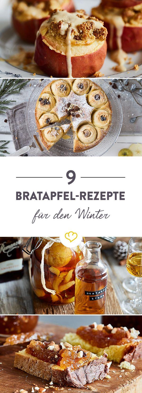 Winterliche Bratäpfel können noch viel mehr, als sich füllen und im Ofen backen zu lassen. Diese 9 süßen Rezepte sind der köstliche Beweis dafür.