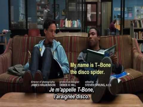 Donde Esta la Biblioteca. With French subtitles. Please, Internet, make the French version happen!
