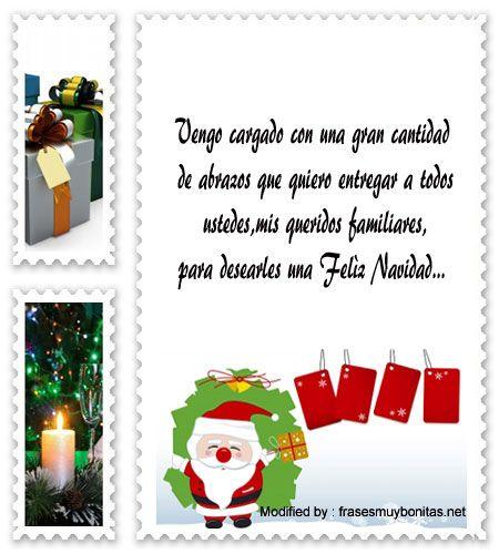 mensajes para enviar en Navidad, poemas para enviar en Navidad:  http://www.frasesmuybonitas.net/mensajes-de-navidad-para-mi-familia/