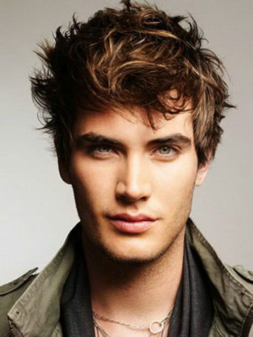 Cool Wavy Hairstyles For Men 2014
