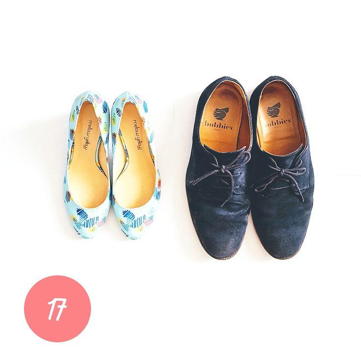 CHRISTMAS GIFT #17 Une jolie paire de chaussures pour être chic jusqu'au bout des pieds #ideecadeau #giftidea #cadeaudenoel #christmasgift #lastminutegift #shoes #chaussures #pumps #escarpins #pattern #motifs #imprimés #mellowyellow #derbies #bobbies #love #couple #alinaerium