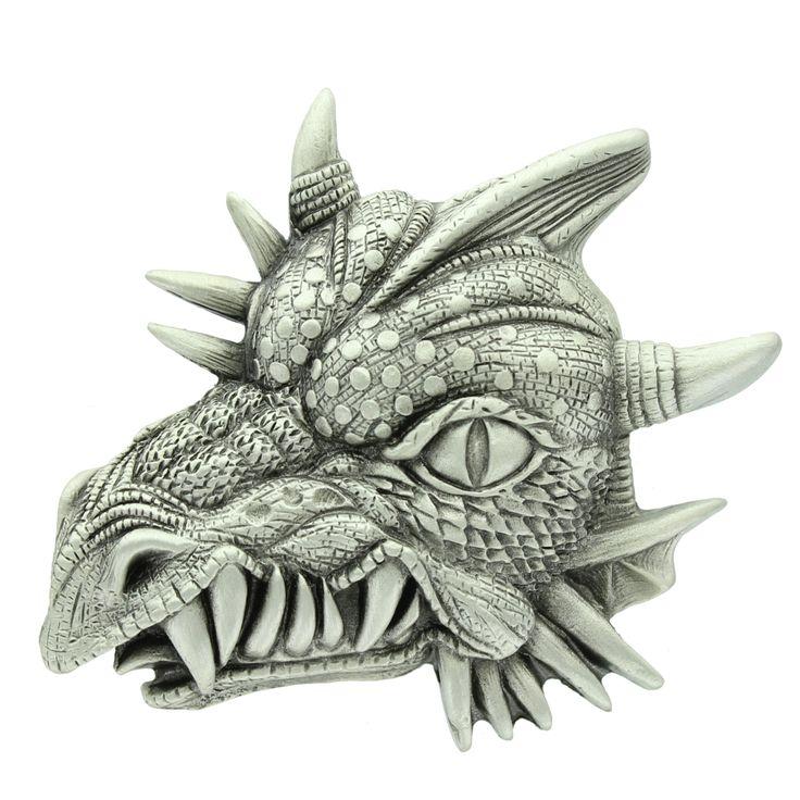 Fantasy Dragon Head Belt Buckle.