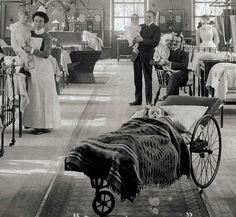 Lydia Ward, Guy's Hospital London 1907